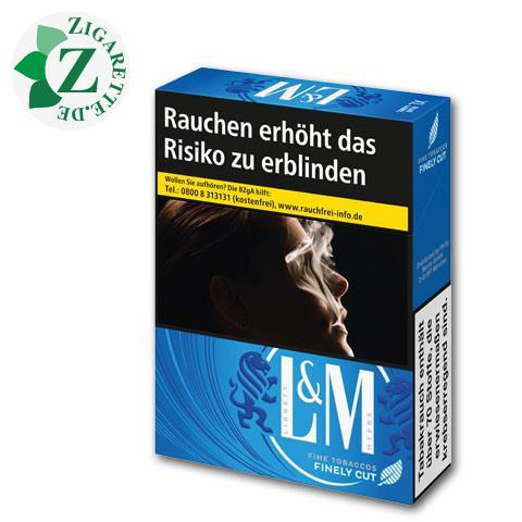 L&M Blue Label XL-Box 8,00 € Zigaretten