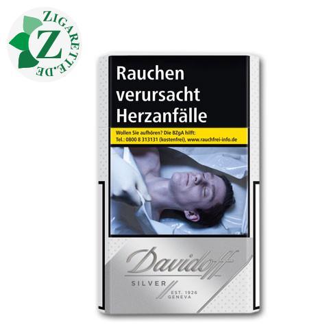 Davidoff Silver 7,20 € Zigaretten